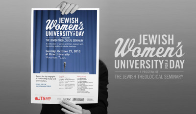 Jewish Women's University for a Day Portfolio Image by Studio 23 | Lee Willett, Creative Director | Web Design and Development | Westchester, New York