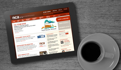 National Coffee Association Website Portfolio Image by Studio 23 | Lee Willett, Creative Director | Web Design and Development | Westchester, New York