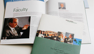 New York Law School Print Collateral by Studio 23 Westchester, New York. Lee Willett, Creative Director