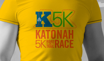 Katonah 5K Race Identity Portfolio Image by Studio 23 | Lee Willett, Creative Director | Web Design and Development | Westchester, New York
