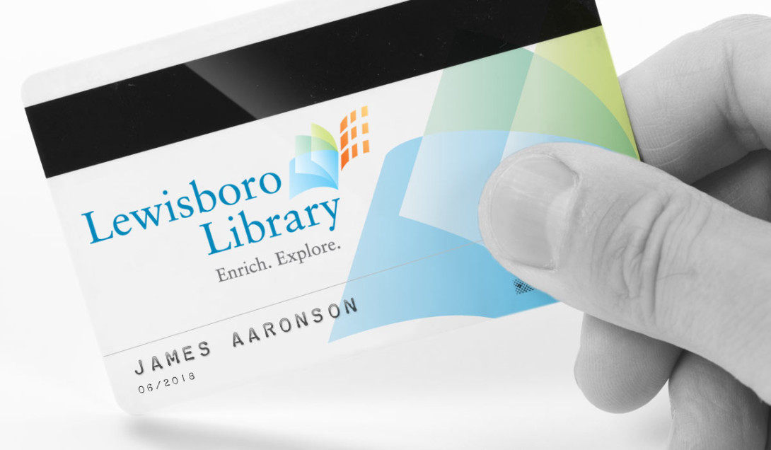 A New Mark for Lewisboro Library Portfolio Thumbnail Image by Studio 23 | Lee Willett, Creative Director | Web Design and Development | Westchester, New York