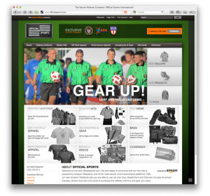 Official Sports Website Design by Studio 23, Westchester, New York
