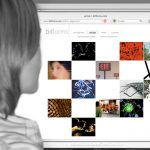 Bitforms Gallery Website Design by Lee Willett / Studio 23