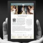 Bridal Boutique Website Design by Lee Willett / Studio 23