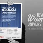 Jewish Women's University for a Day Identity and website design by Lee Willett / Studio 23
