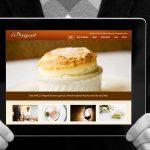 Le Perigord restaurant website by Studio 23 / Lee Willett