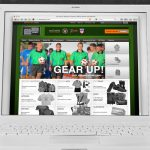 Official Sports e-commerce website design by Lee Willett / Studio 23