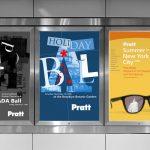 Pratt Institute Promotional Posters by Lee Willett / Studio 23