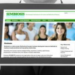 Simbiosis Website Design by Lee Willett / Studio 23