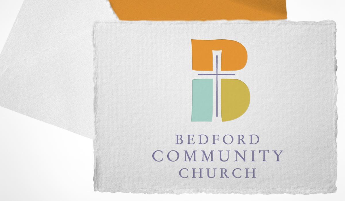 Bedford Community Church Identity by Lee Willett / Studio 23