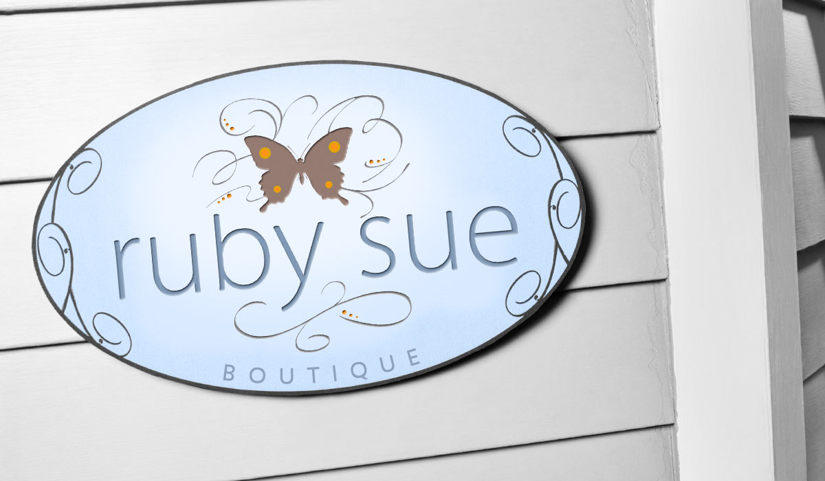 Ruby Sue Boutique Identity